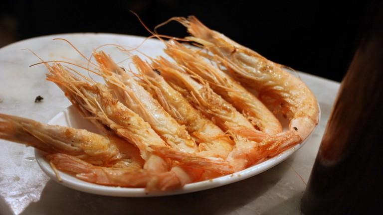Make sure to order the prawns at Casa del Abuelo