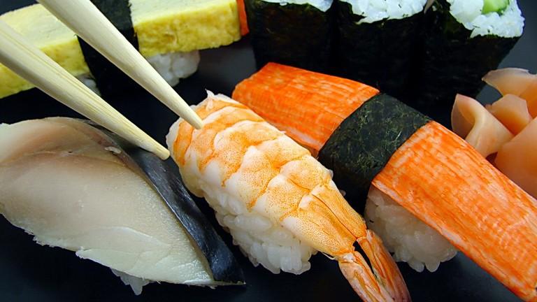Sushi |© Tony Gladvin George/Flickr