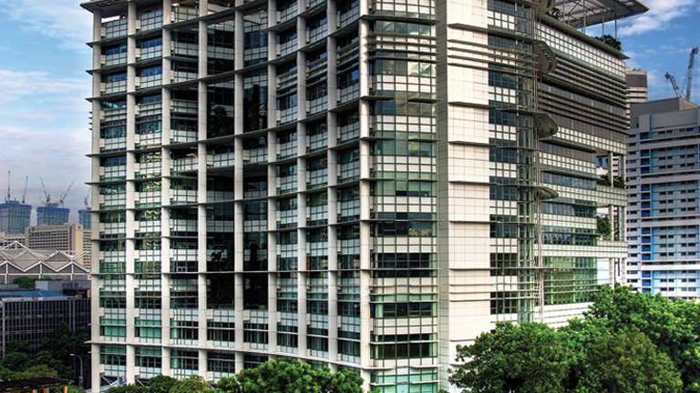 The National Library of Singapore can now be found along Bras Basah Road