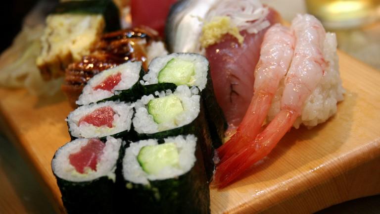 Sushi options