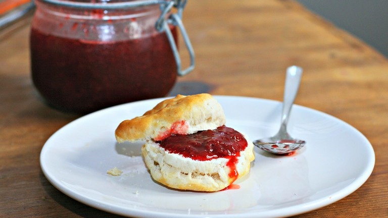 Enjoy house-made jam at The Jammery