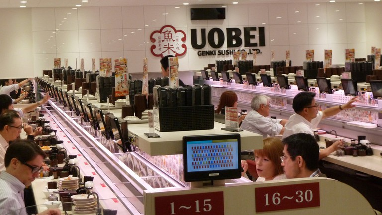 Uobei Sushi Restaurant | © Brian Sterling / Flickr