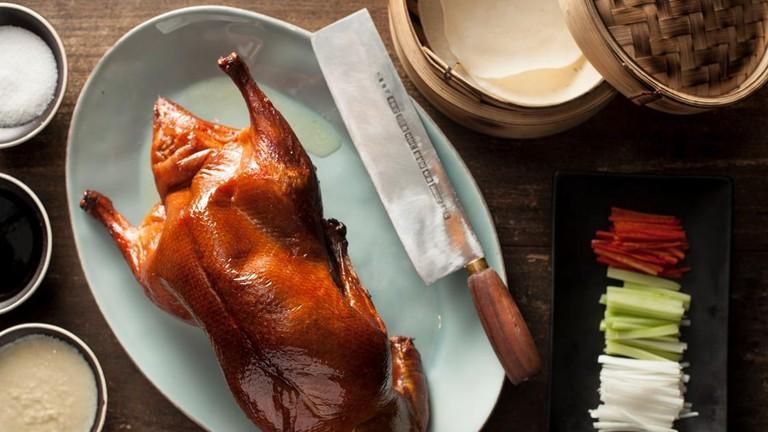 Mott 32's applewood roasted duck