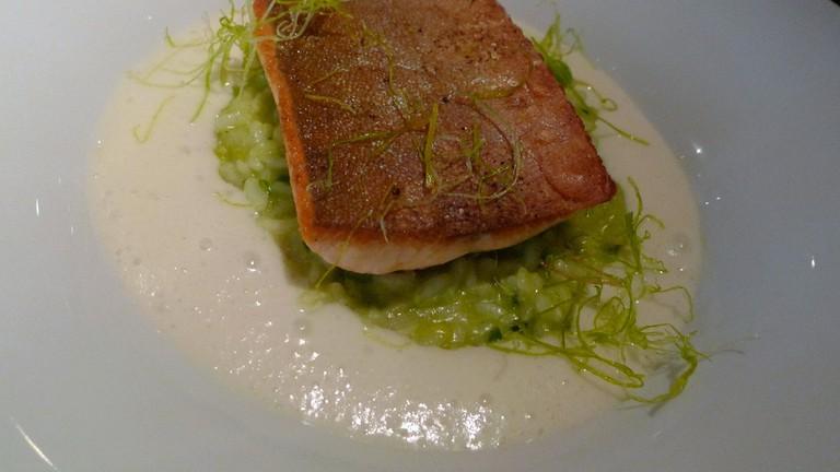 Enjoy seafood at Araxi