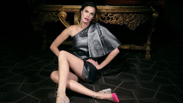 Some hot pink heels