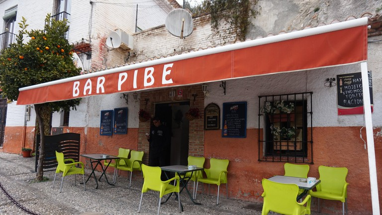 """Bar Pibe on the busiest tourist street in Sacromonte does well to retain its """"local"""" feel"""