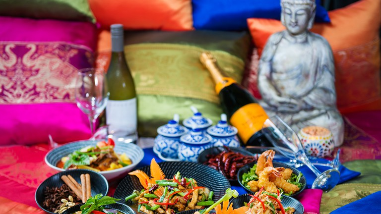 Thai Banquet at Chantara, Fiji
