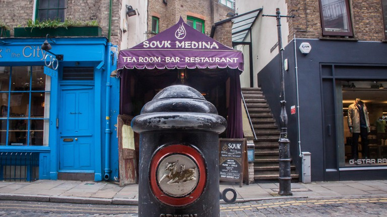 The Souk Medina in Covent Garden