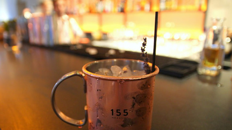 Cocktail at 155 Kitchen