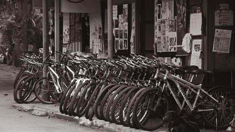 Bike Rental Shop on Pulau Ubin | ©Schristia/Flickr