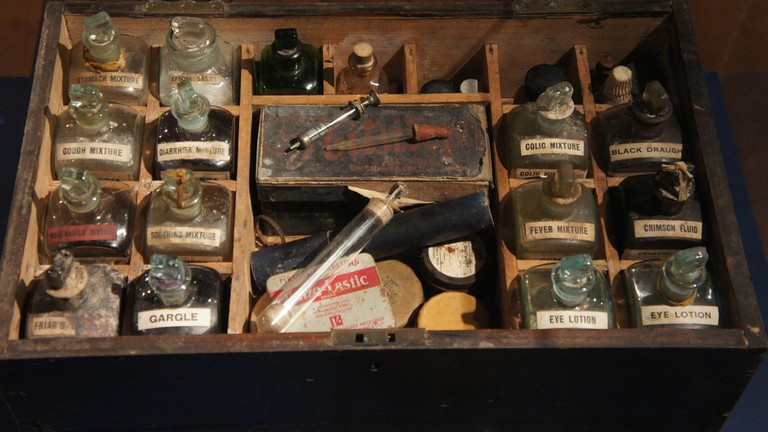 Old First Aid Kit, Aberdeen Maritime Museum