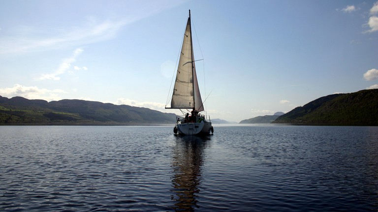 Loch Ness by Sail