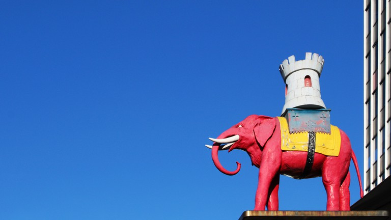 The Elephant at Elephant and Castle