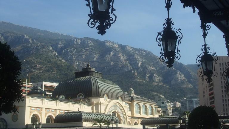 View from Hotel de Paris