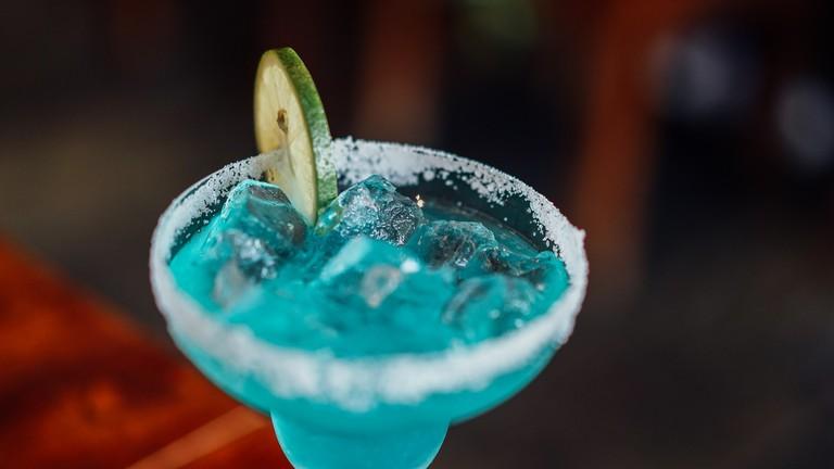 Blue drink