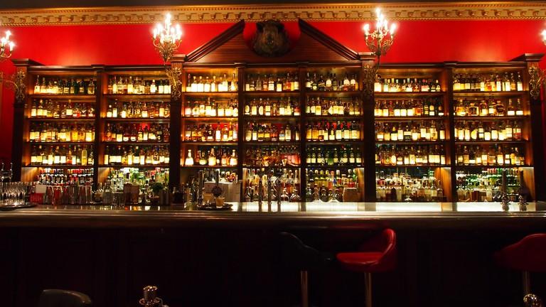 Boisdale whisky bar