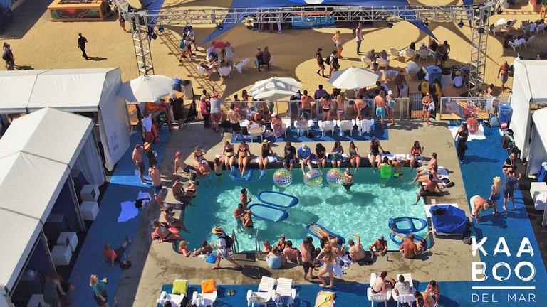 A pool at KABOO Del Mar