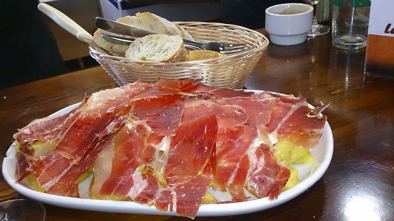 Ham is one of the most delicious of all Spanish dishes