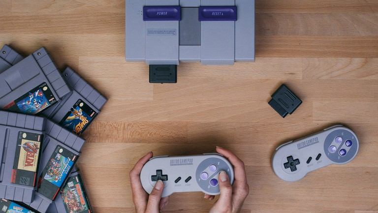 Get reaquainted with the Super Nintendo Entertainment System at 8bit Cafe