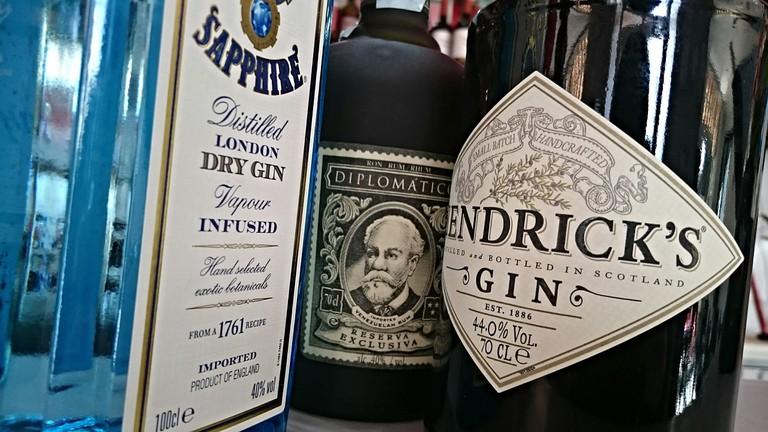 Get stuck into a huge gin bar