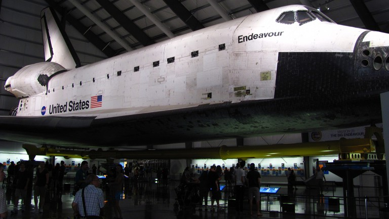 The Space Shuttle Endeavour at the California Science Center