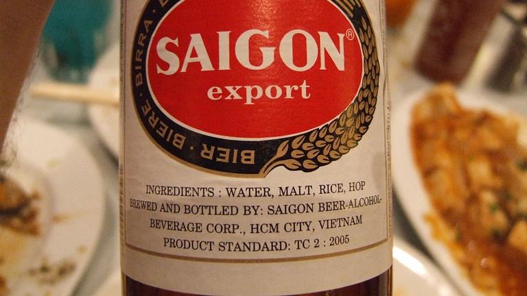Little Saigon stocks Saigon beer