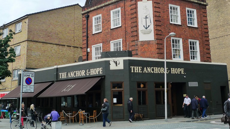 The Anchor & Hope, The Cut