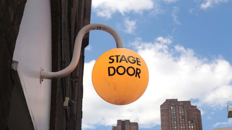 Stage door by Penny Bar