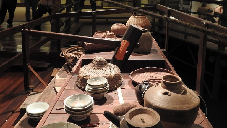 An exhibit at the Hong Kong Museum of History