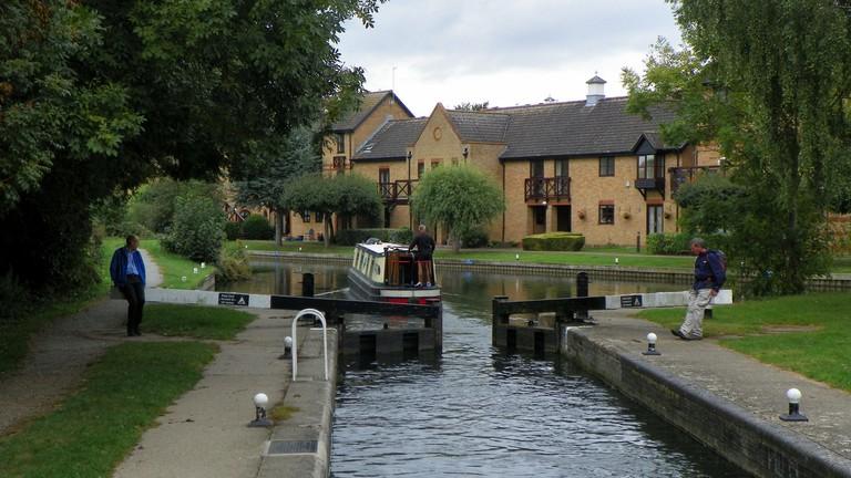 Canals in Sawbridgeworth