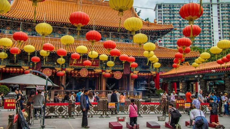 Wong Tai Sin Temple: Main Altar