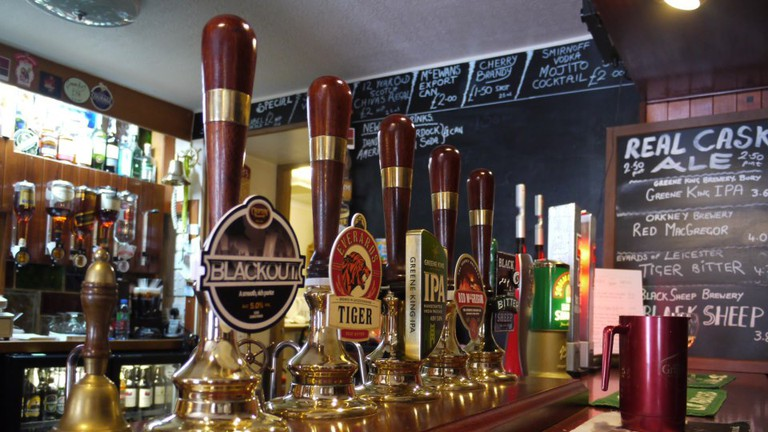 The Bar of The New Inn