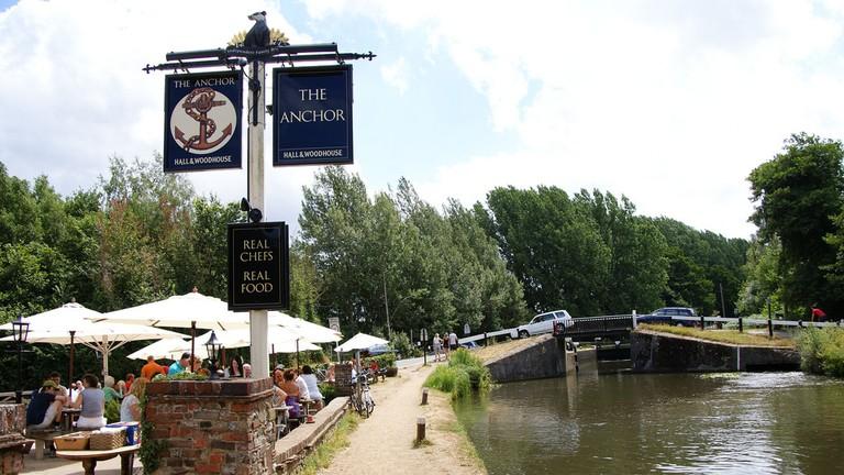 The Anchor pub in Surrey