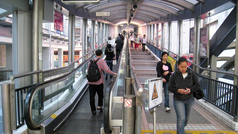 Central Mid-Levels Escalator