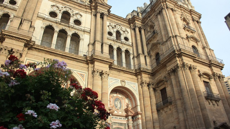 Málaga's cathedral is known as the 'One Armed Woman' due to its uncompleted second tower