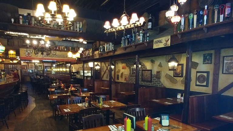 Monk's Pub interior | Courtesy of Monk's Pub