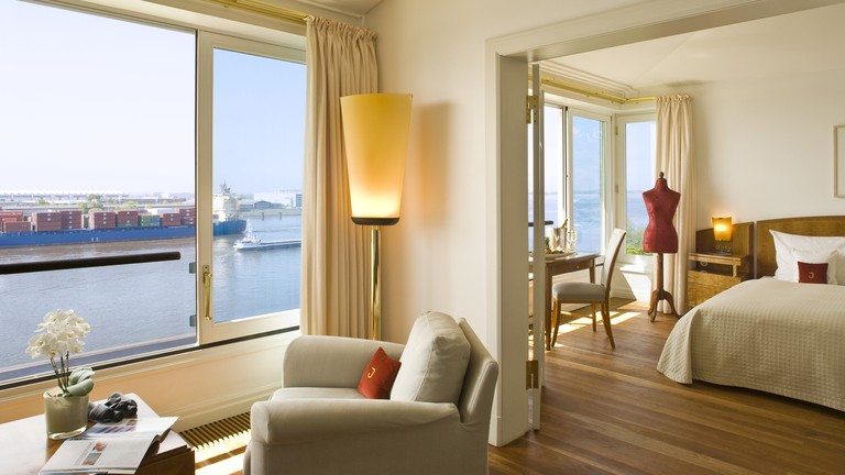 The Elbe suite at Hotel Louis C. Jacob
