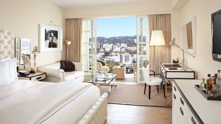 A premium guest room at Mr. C Beverly Hills
