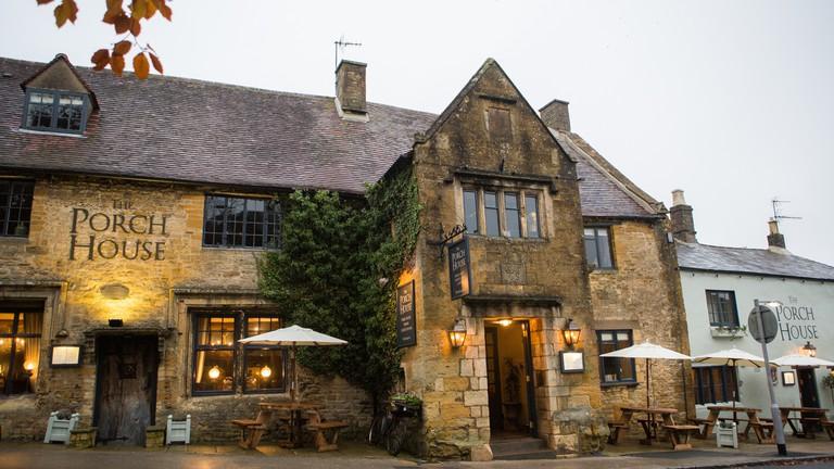 Pub Exterior | Courtesy of The Porch House