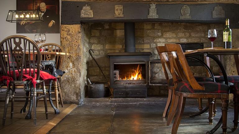 Interior | Courtesy of The Churchill Arms