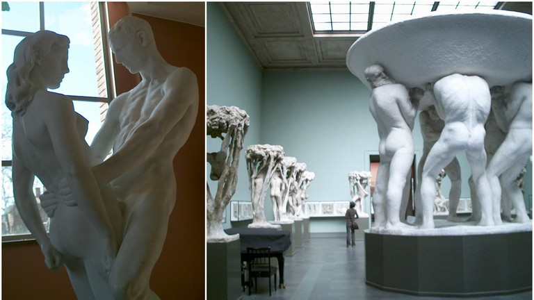 Statues at the Vigeland Museum