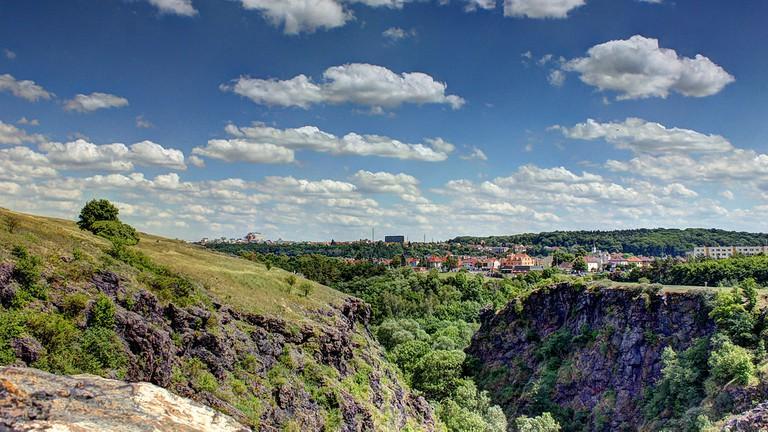 Views from Divoka Šarka
