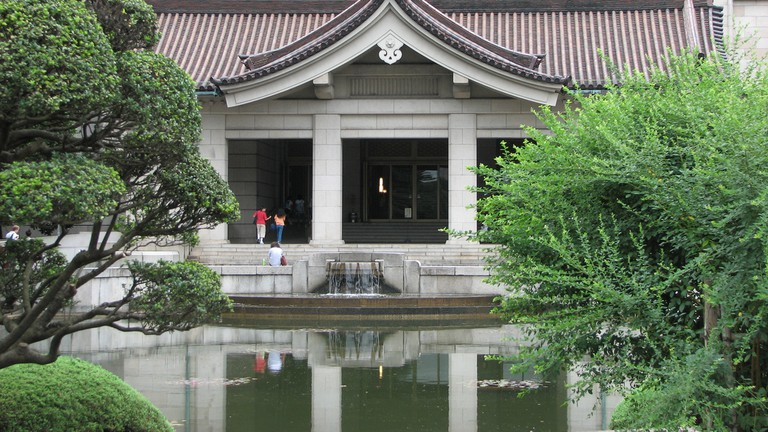 Tokyo National Museum Main Hall in Ueno Park
