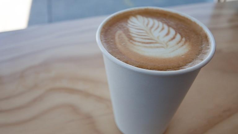 Blue Bottle latte