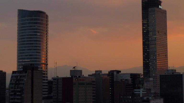 Views over The St. Regis Mexico City