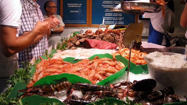 Fresh fish at La Paradeta © cubby_t_bear