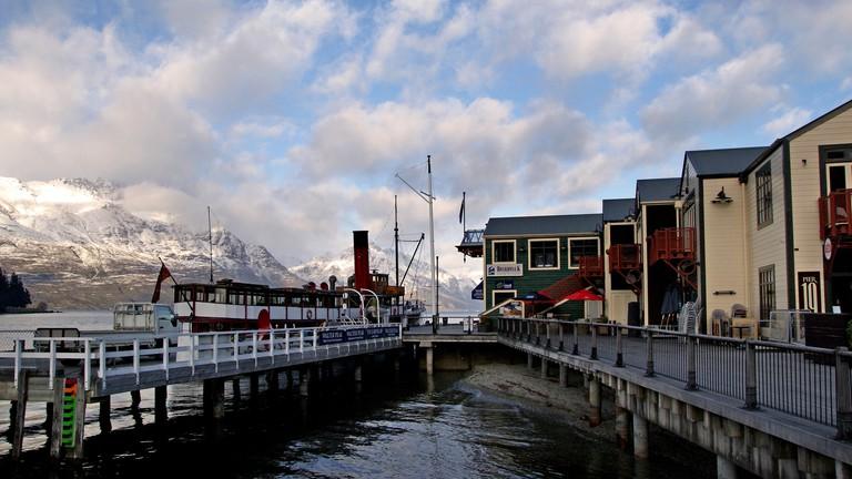 Steamer Wharf, Queenstown NZ