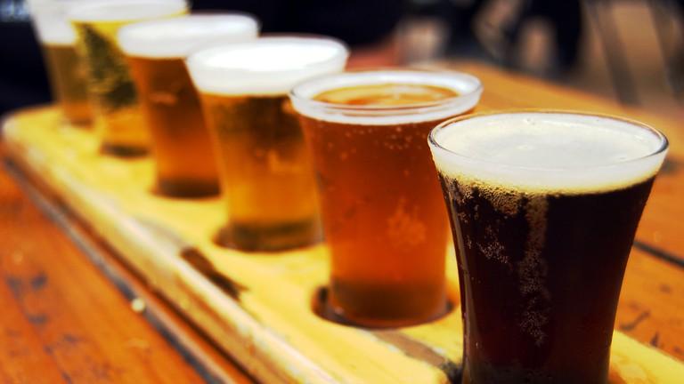 Beer Flight l theNerdPatrol/Flickr