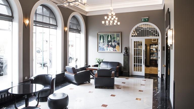 Hotel Borg lobby
