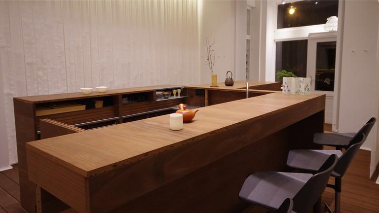 The peaceful and calm Macha Macha Japanese teahouse
